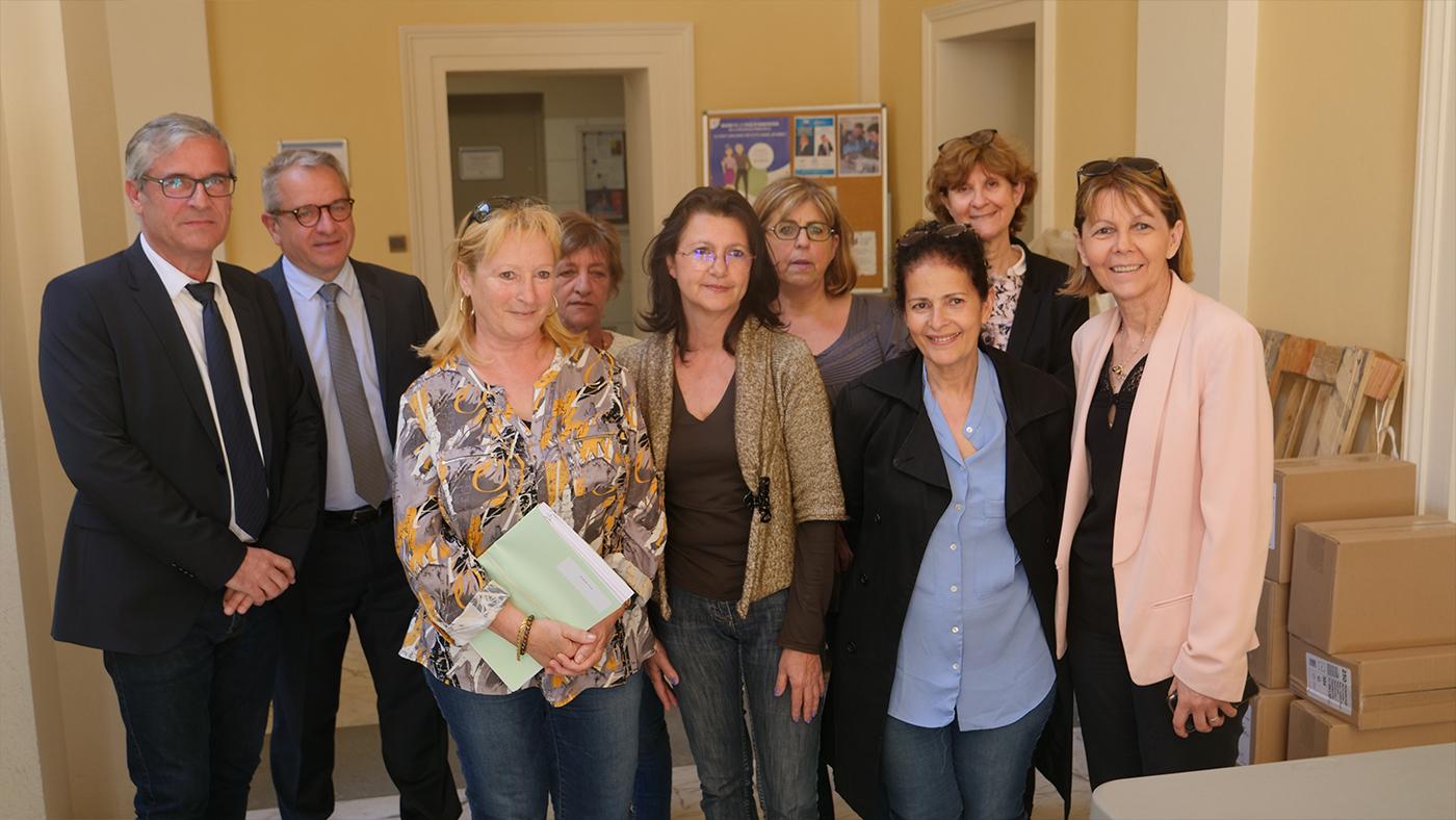 Les élections européennes se préparent à la préfecture de Corse