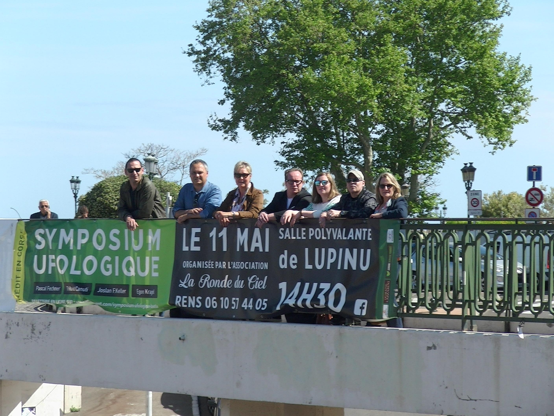 L'association La Ronde du Ciel et les intervenants de ce samedi 11 mai