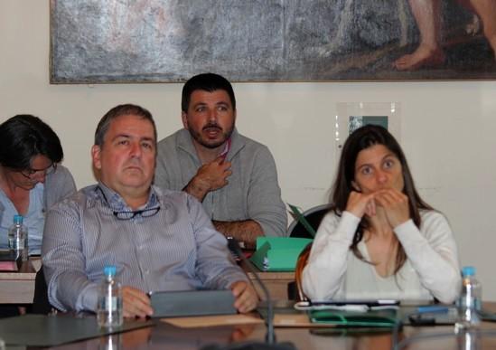 Au dernier conseil municipal avec Ghjulia Robichon