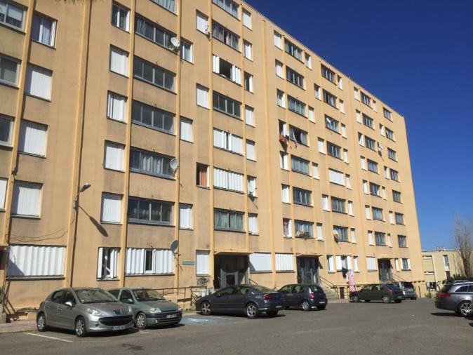 Les bâtiments 32 et 33 de la Cité des Monts, menacés de démolition dans le cadre de la réhabilitation du quartier