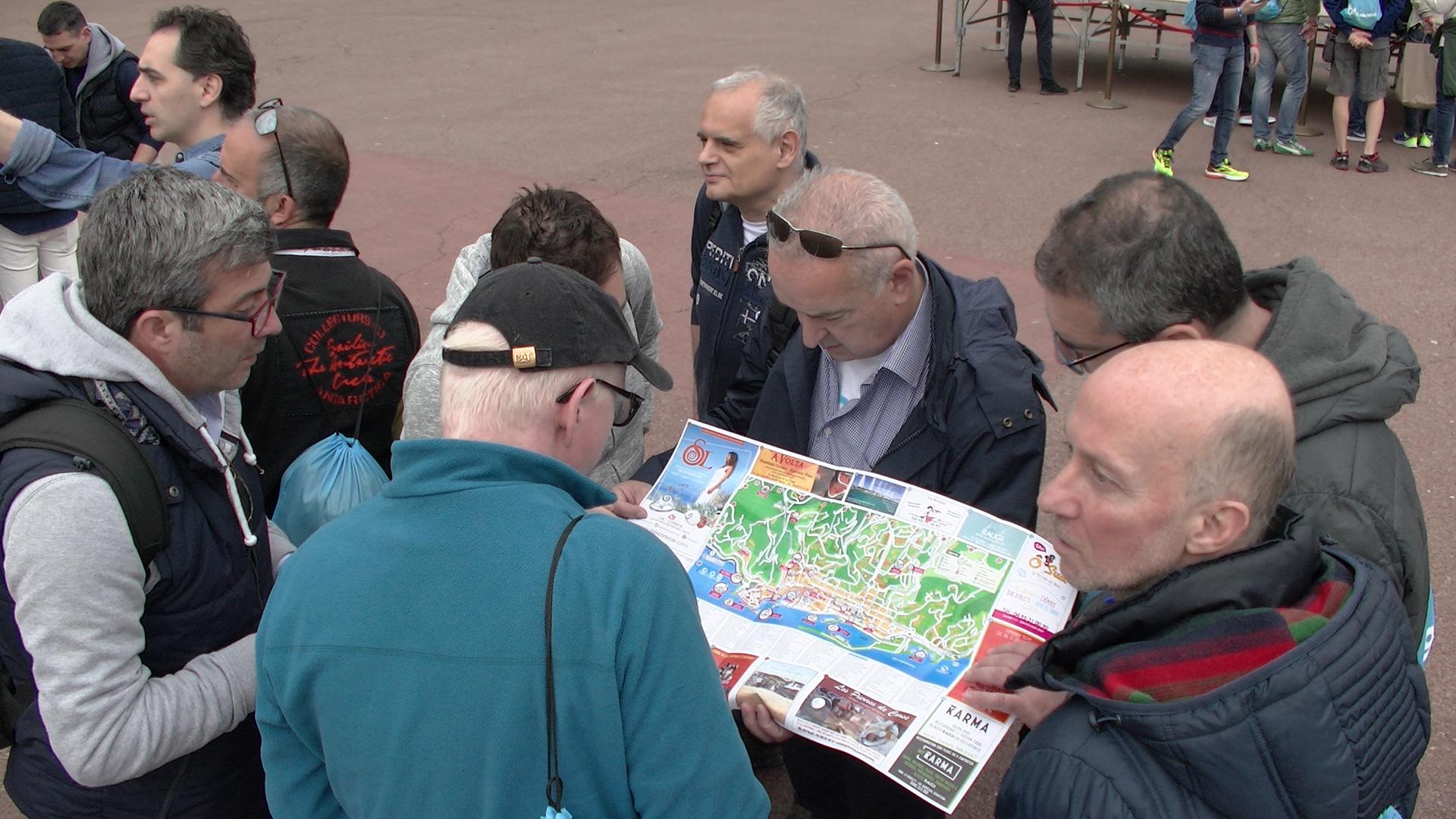 700 touristes italiens pour une chasse au trésor dans les rues de Bastia