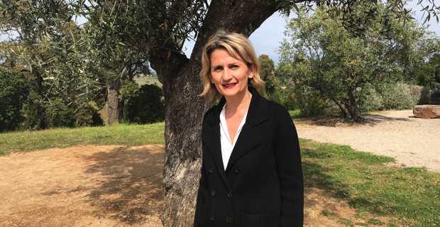 Nanette Maupertuis, conseillère exécutive de la Collectivité de Corse et présidente de l'Agence du tourisme de la Corse (ATC).