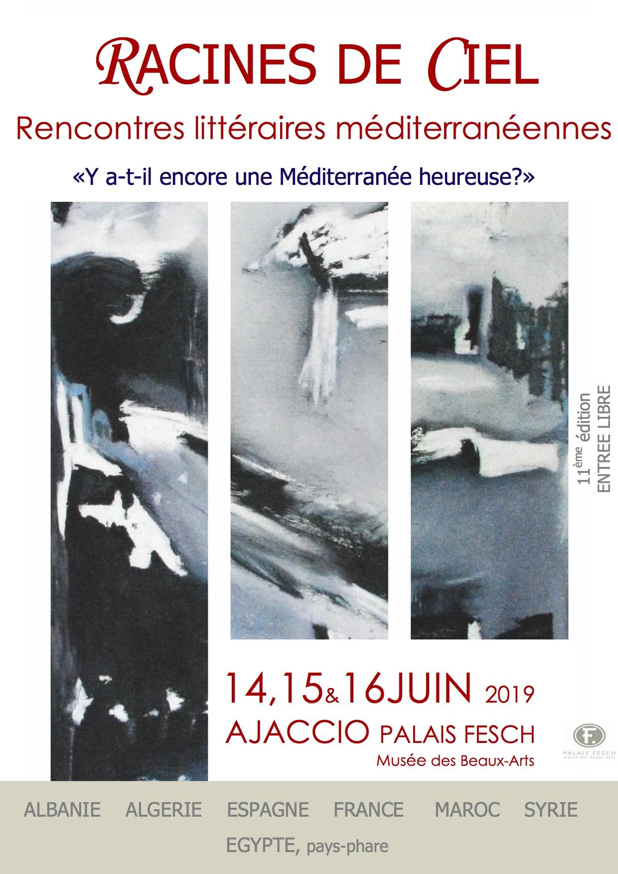 Racines de ciel : La 11e édition des rencontres littéraires d'Ajaccio en juin