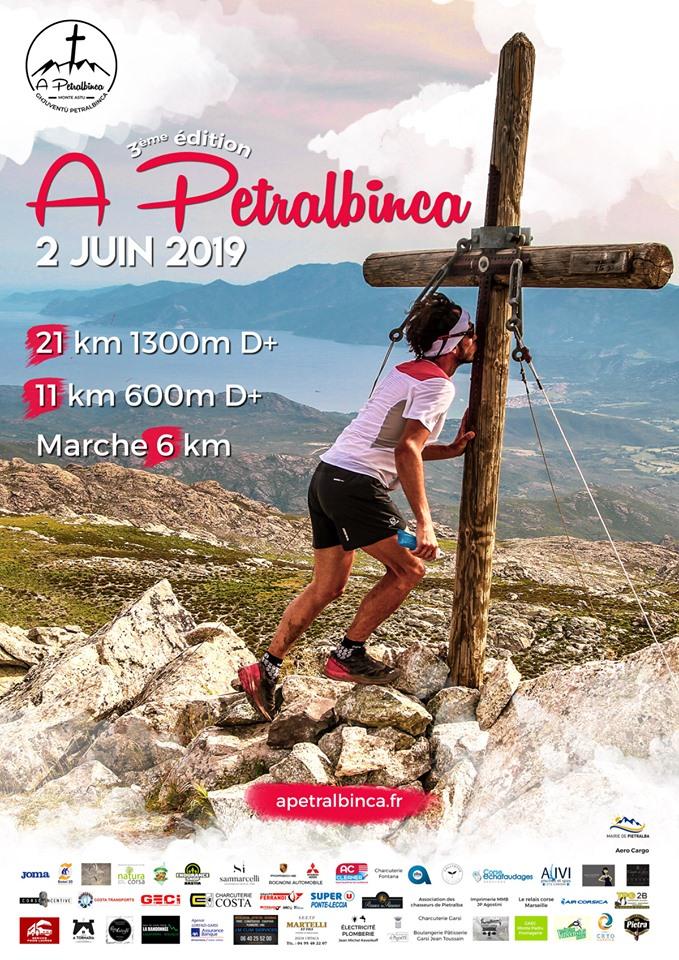 IIIe édition du Trail A Petralbinca le 2 juin