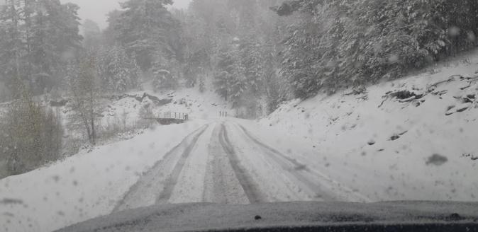 C'était le 9 Mai dernier entre Albertacce et Evisa