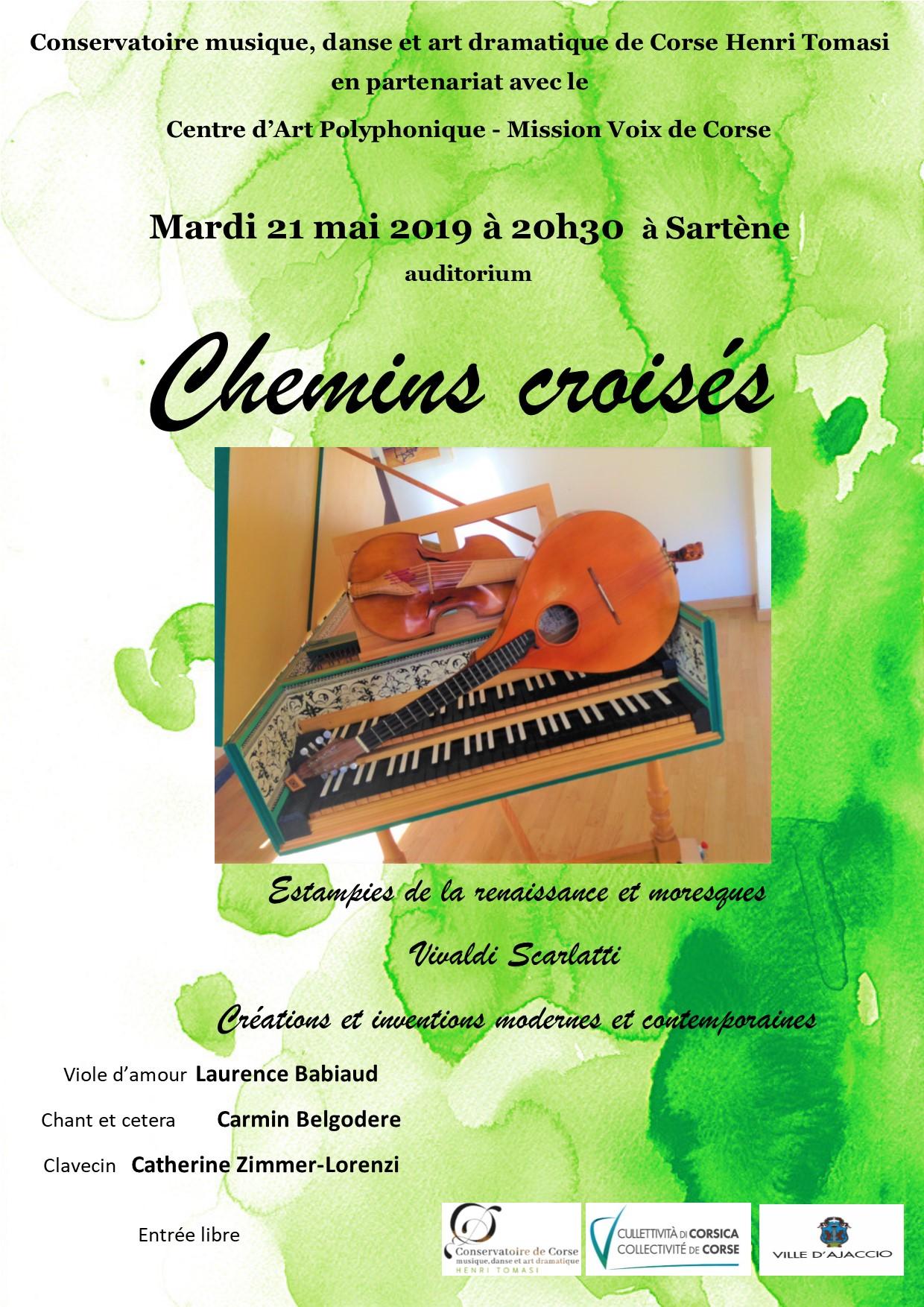 Sartene : un concert  au Centre d'Art Polyphonique le 21 mai