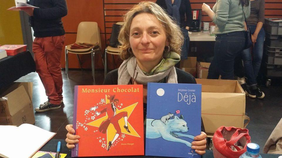 Rencontre avec l'auteur jeunesse Delphine Grenier ce 21 Mai à Bastia