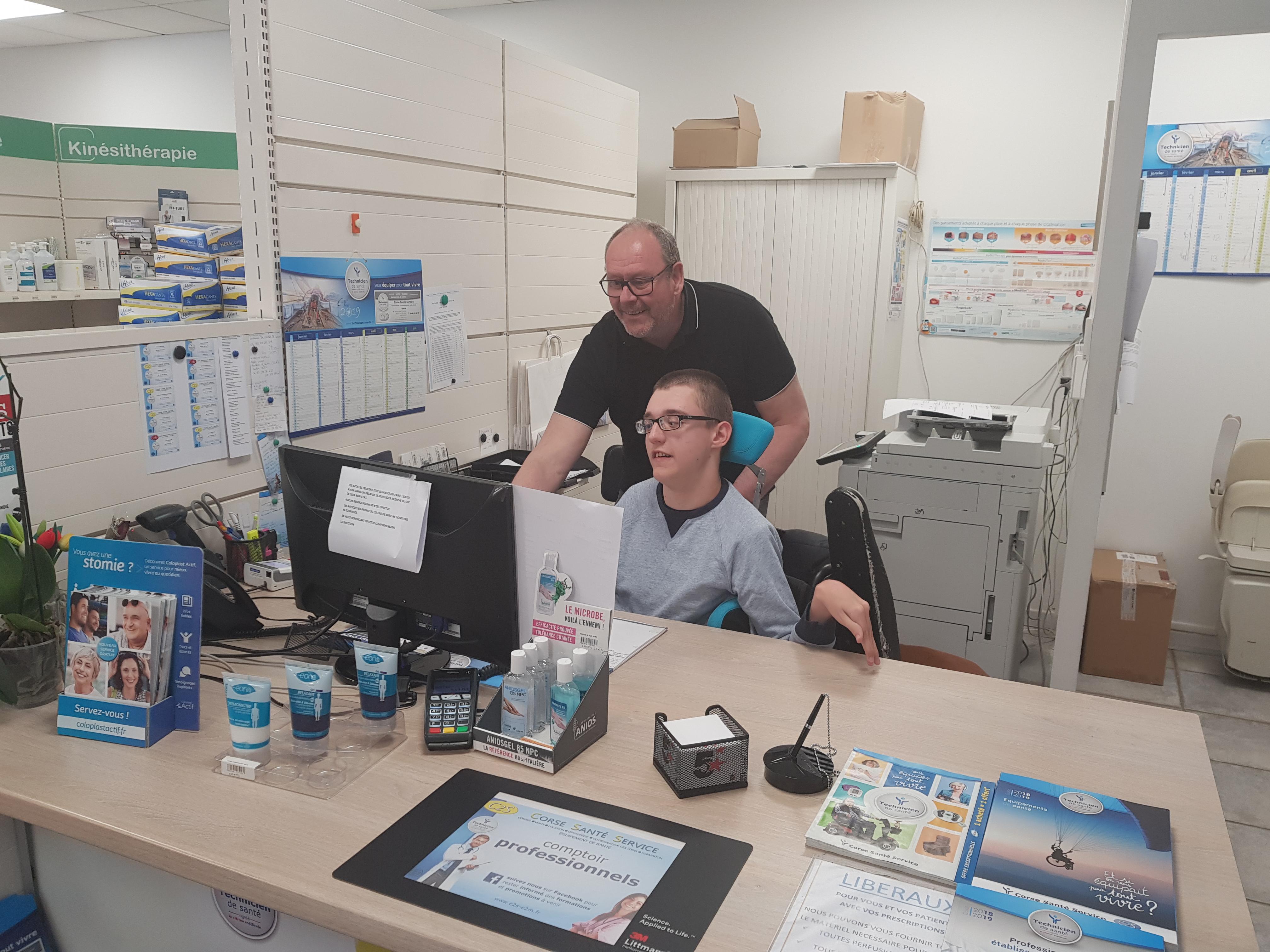 DuoDay : Corse Santé Service ouvre pour l'inclusion au travail