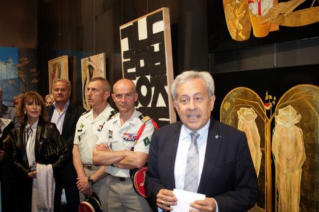 Ange Santini a déclaré ouvert le Musée d'art contemporain de la citadelle de Calvi