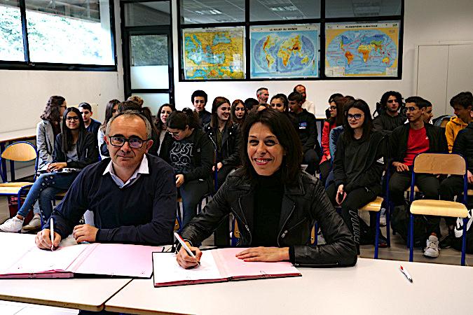 Corsica Linea et Rectorat de Corse : Une convention pour la promotion de la filière maritime dans les collèges