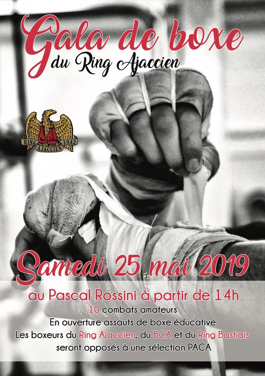Ring Ajaccien : gala de boxe samedi 25 au Rossini