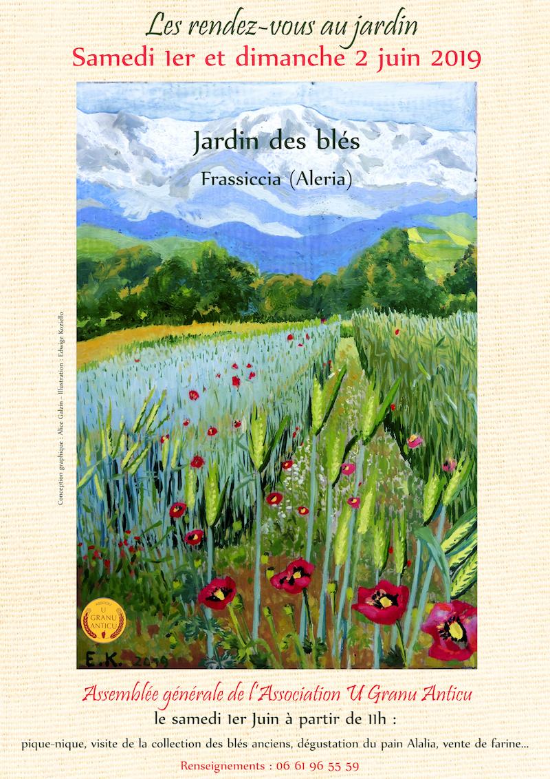 A la découverte des Jardins de Blé d'Aleria, ce weekend