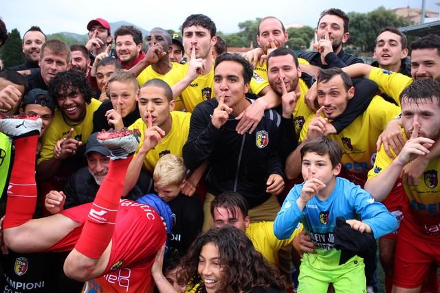 Et l'euphorie s'empara du FC Balagne