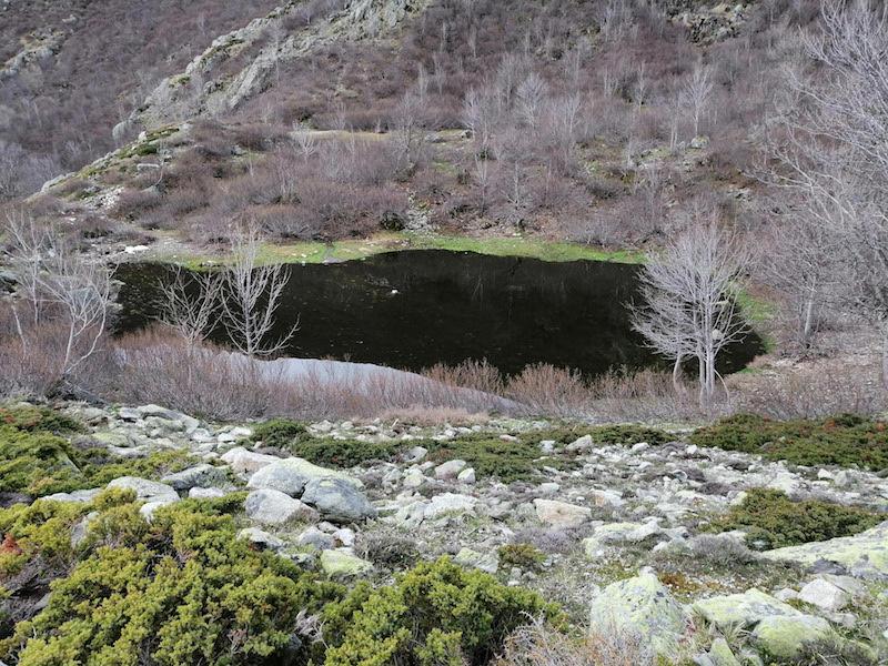 La photo du jour :  Le petit lac d'Alzeta