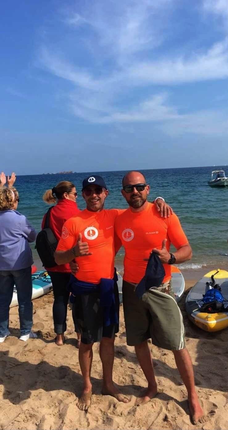 L'exploit des Balanins Arnaud Ledrich et Gilles Ricordel dans la traversée Calvi-Fréjus en stand up paddle !