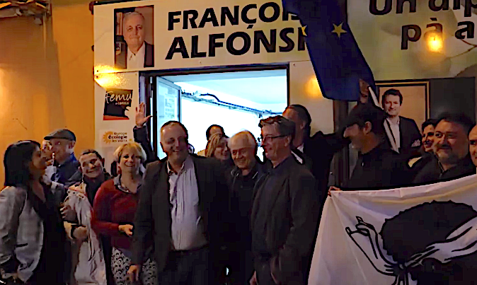 Européennes  :  La Corse en habit vert