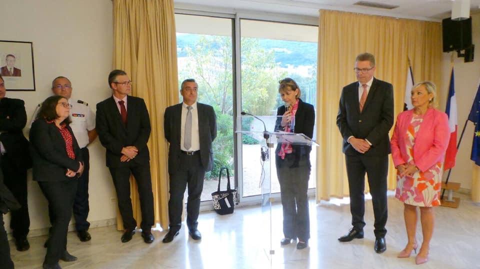 Le préfet Gérard Gavory dit au-revoir à la Haute-Corse