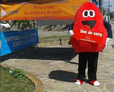 Encore un beau résultat pour la collecte de sang de Ghisonaccia