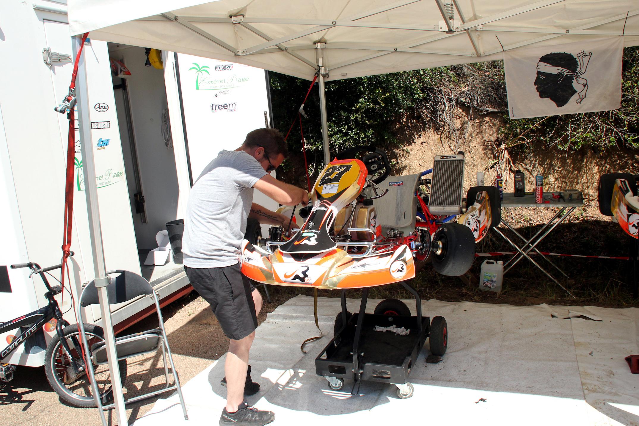 Top départ pour le 3x3 et le kart à Porto-Vecchio