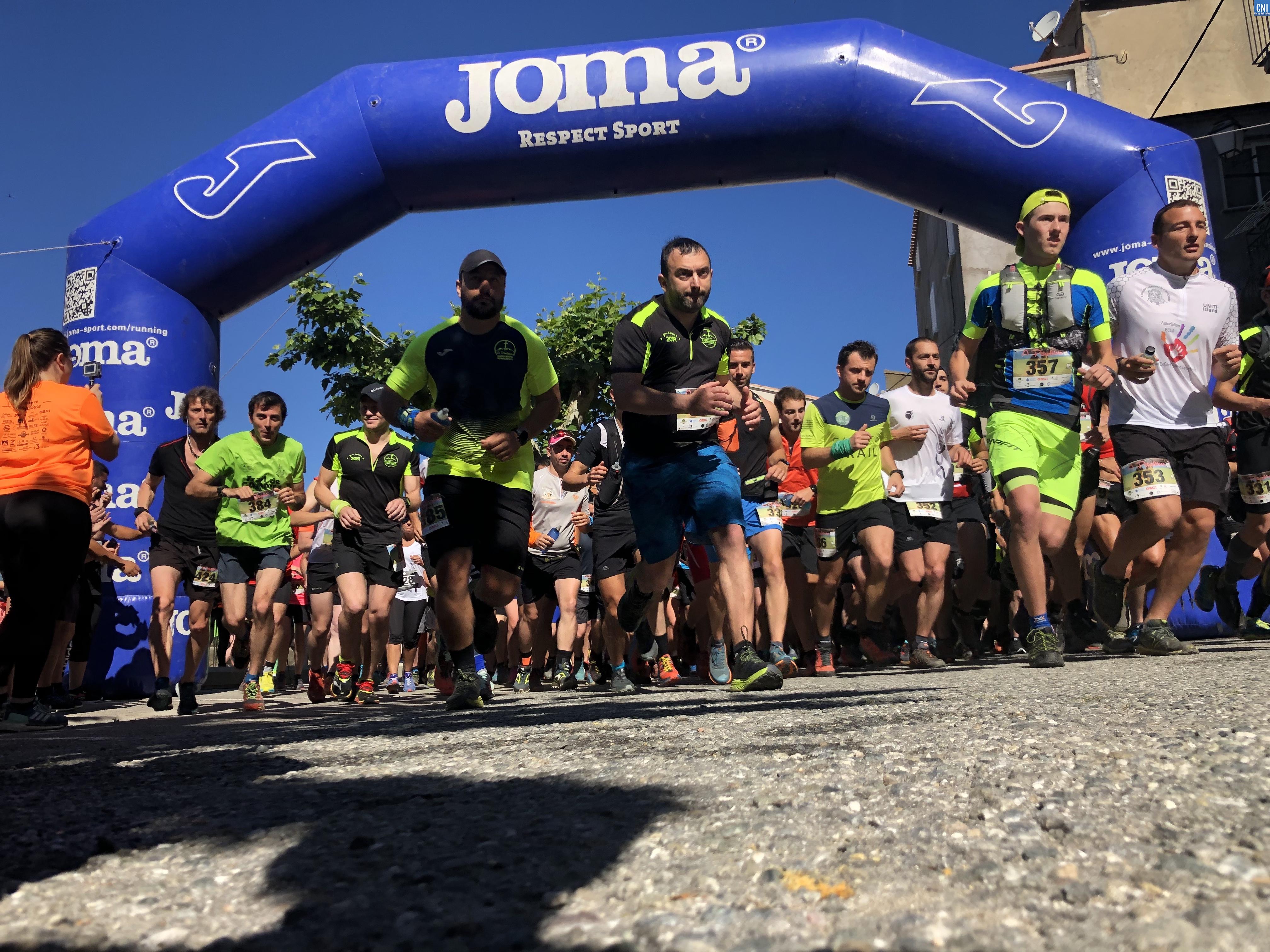 A Petralbinca : Noël Giordano pulvérise le record du trail des 21 km
