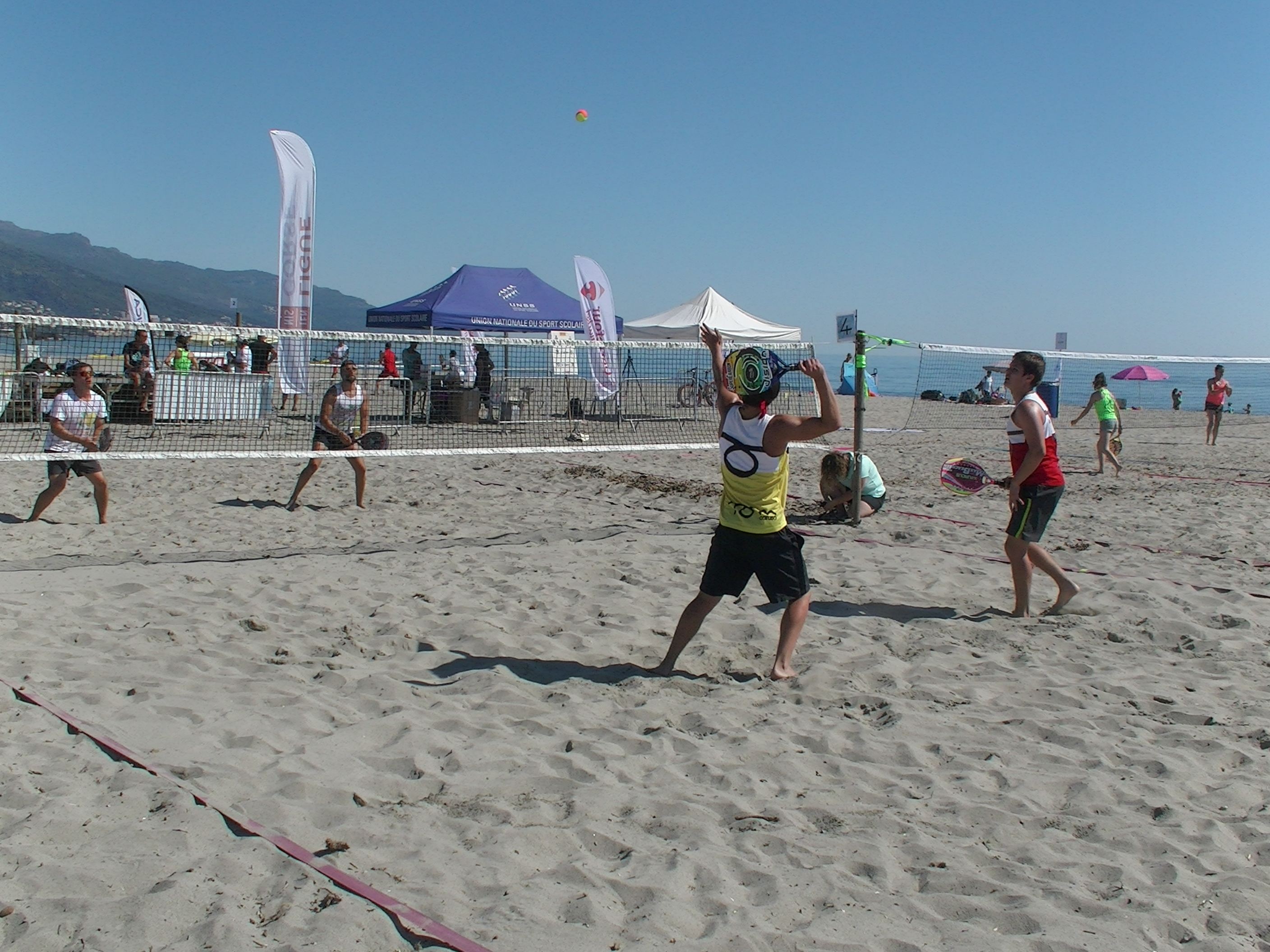 Beach tennis à Furiani : And the winners are...