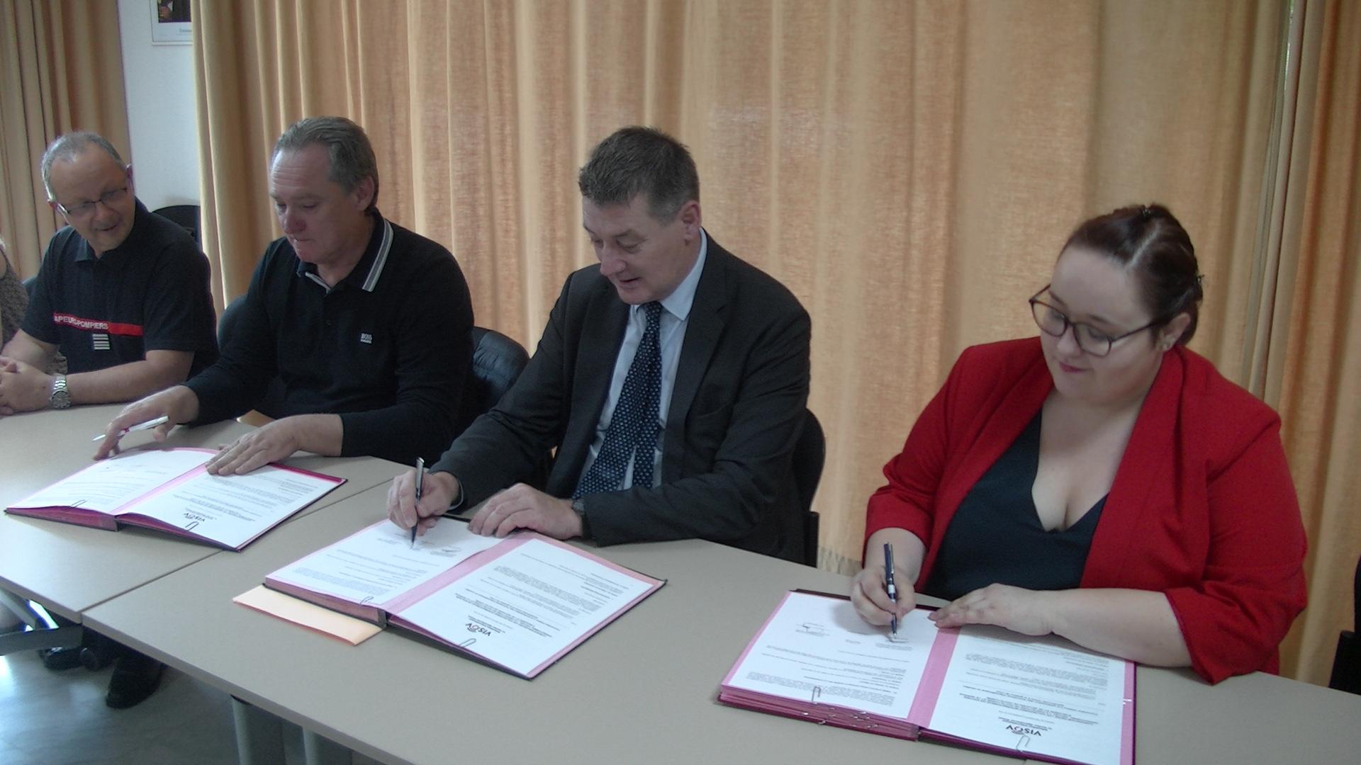 Bastia : un partenariat signé entre la préfecture de la Haute-Corse, le SIS et VISOV