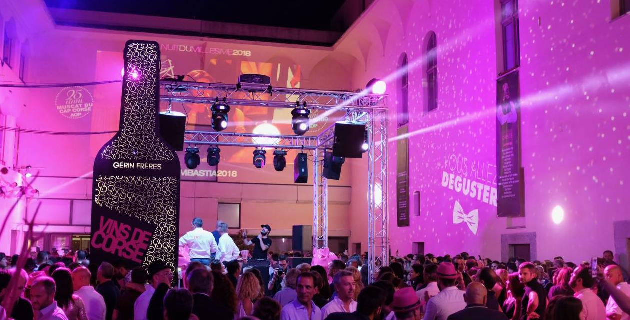 La Nuit du Millésime à Bastia