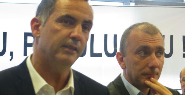 Gilles Simeoni et Jean-Christophe Angelini au temps de Femu a Corsica.