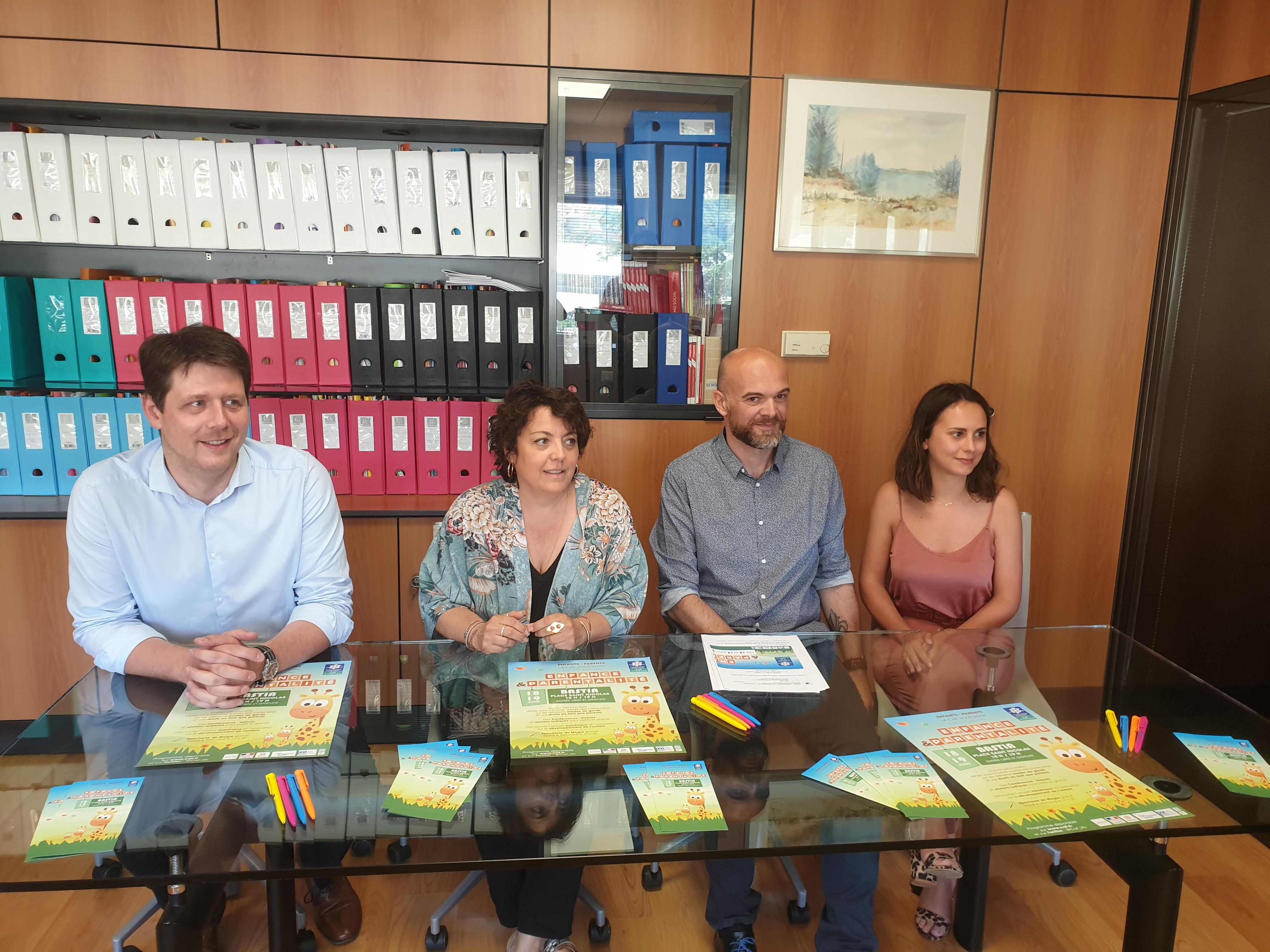 """""""Enfance et parentalité""""  : Deux journées d'information es 18 et 19 Juin à Bastia"""