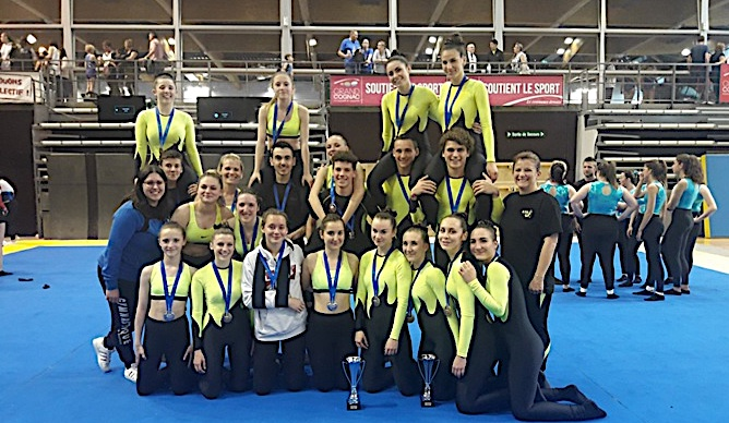 Gymnastique : La belle moisson du  Bastia Team Gym