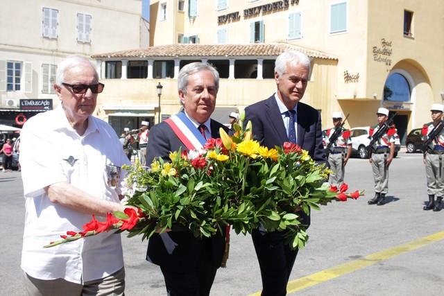 Commémoration de l'appel du 18 juin à Calvi