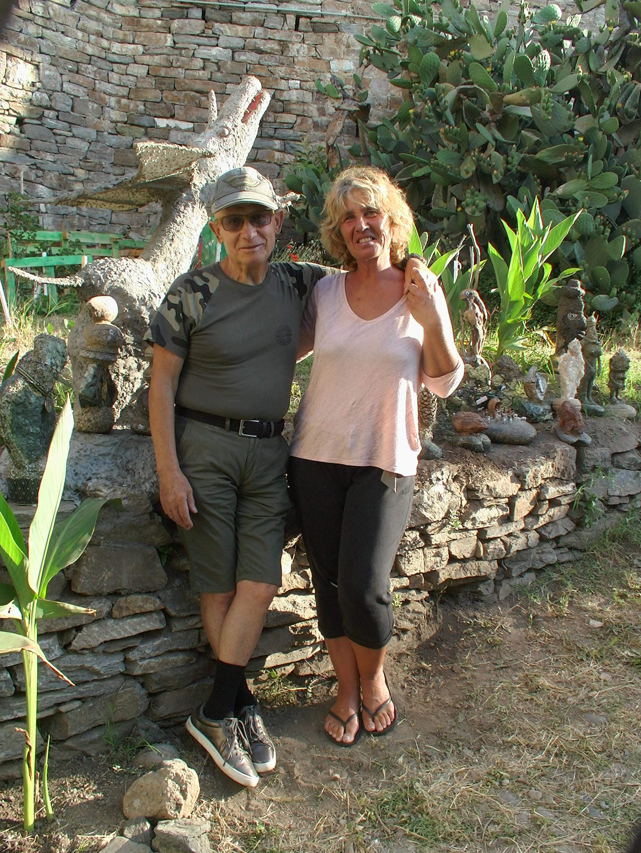Aldo et Graziella, les gardiens de A Falata di Ficaghjola