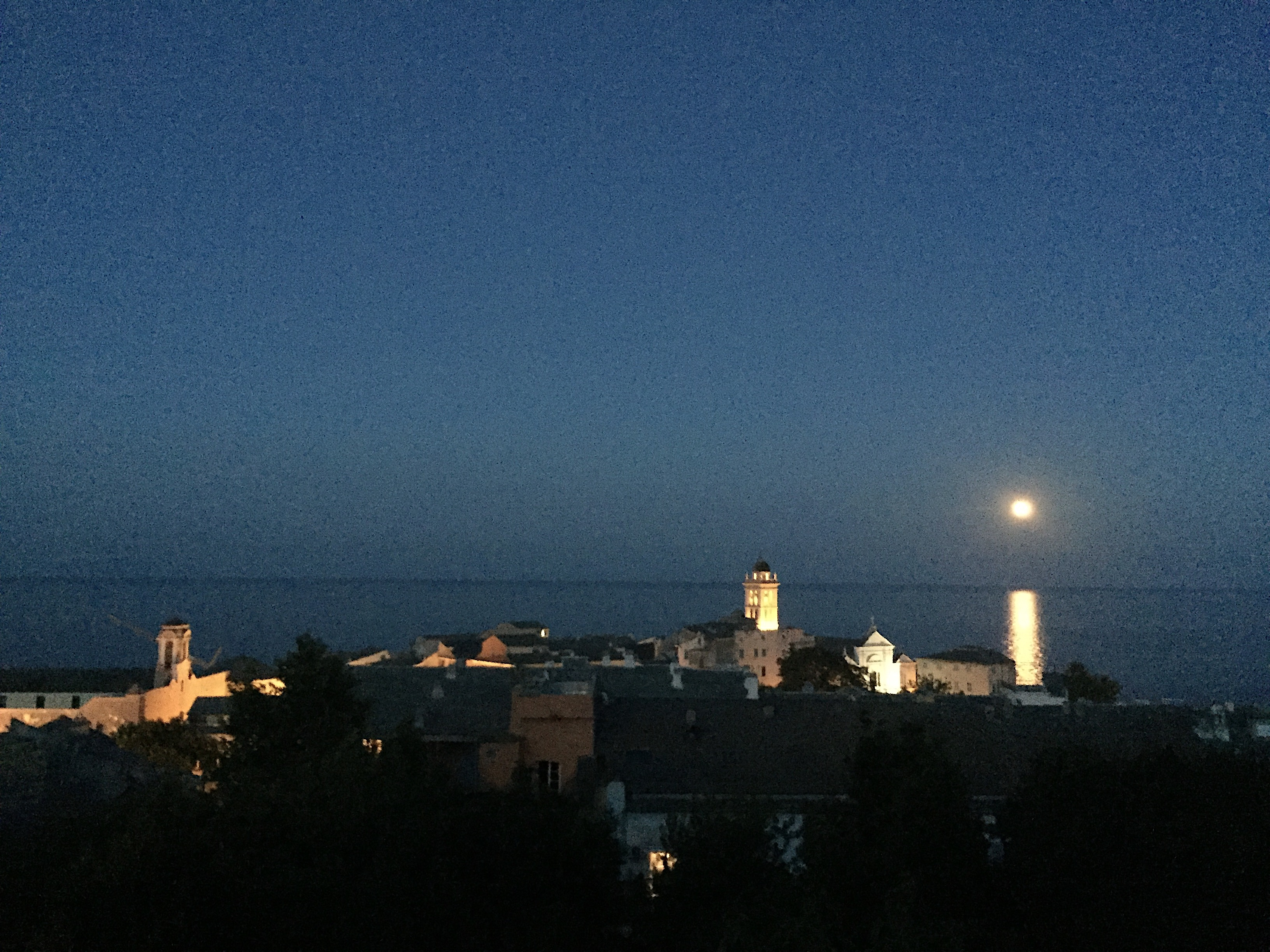 A luna splende sopra Bastia (Jean-Baptiste Raffalli)