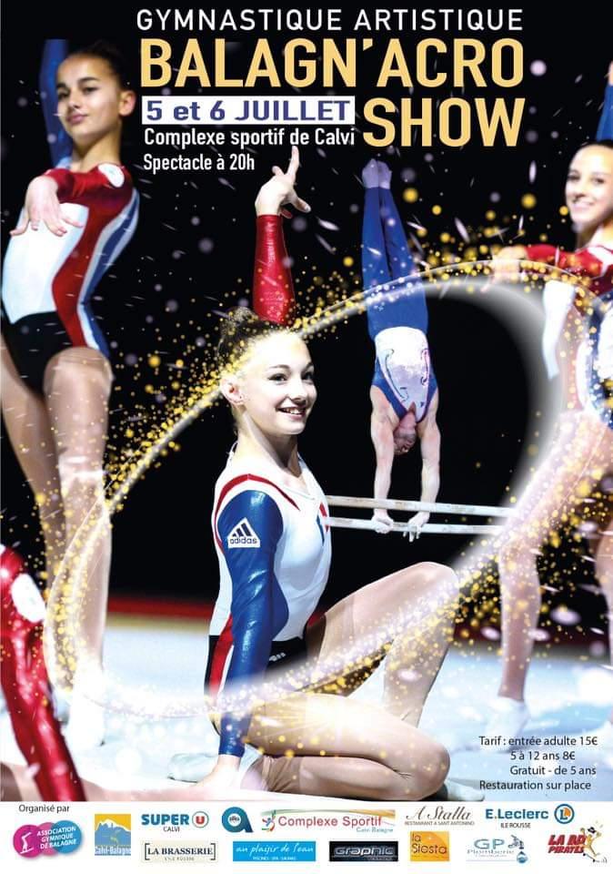 Balagn'acro show de retour les 5 et 6 juillet au complexe sportif Calvi-Balagne