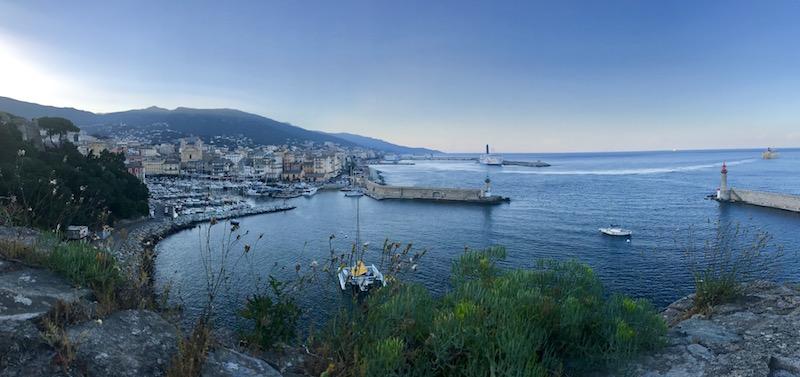 La photo du jour : Le vieux-port de Bastia un soir d'été