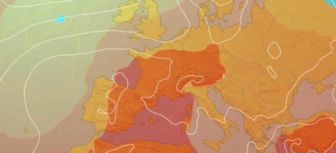 Une langue chaude venant du Maghreb et de l'Espagne va faire exploser les thermomètres !