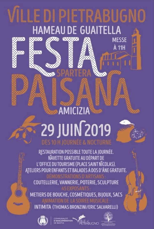Festa  Paisana : Le 29 Juin à Petruhno