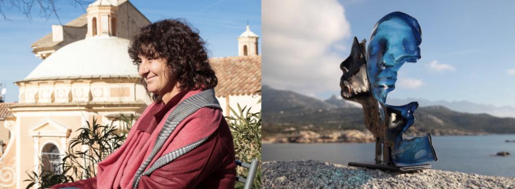 Jocelyne Boyer, Verrier d'Art lauréate de la région Corse au Concours Ateliers d'Art de France