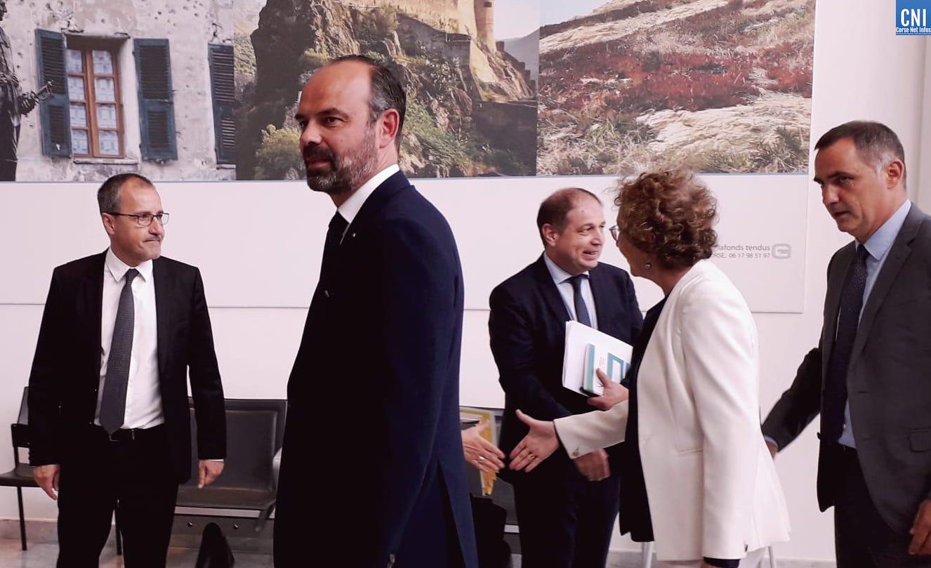 Édouard Philippe en Corse : « Pas d'avancées » pour Gilles Simeoni et Jean-Guy Talamoni