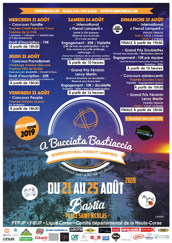 Pétanque : et de 5 pour A Bucciata Bastiaccia !