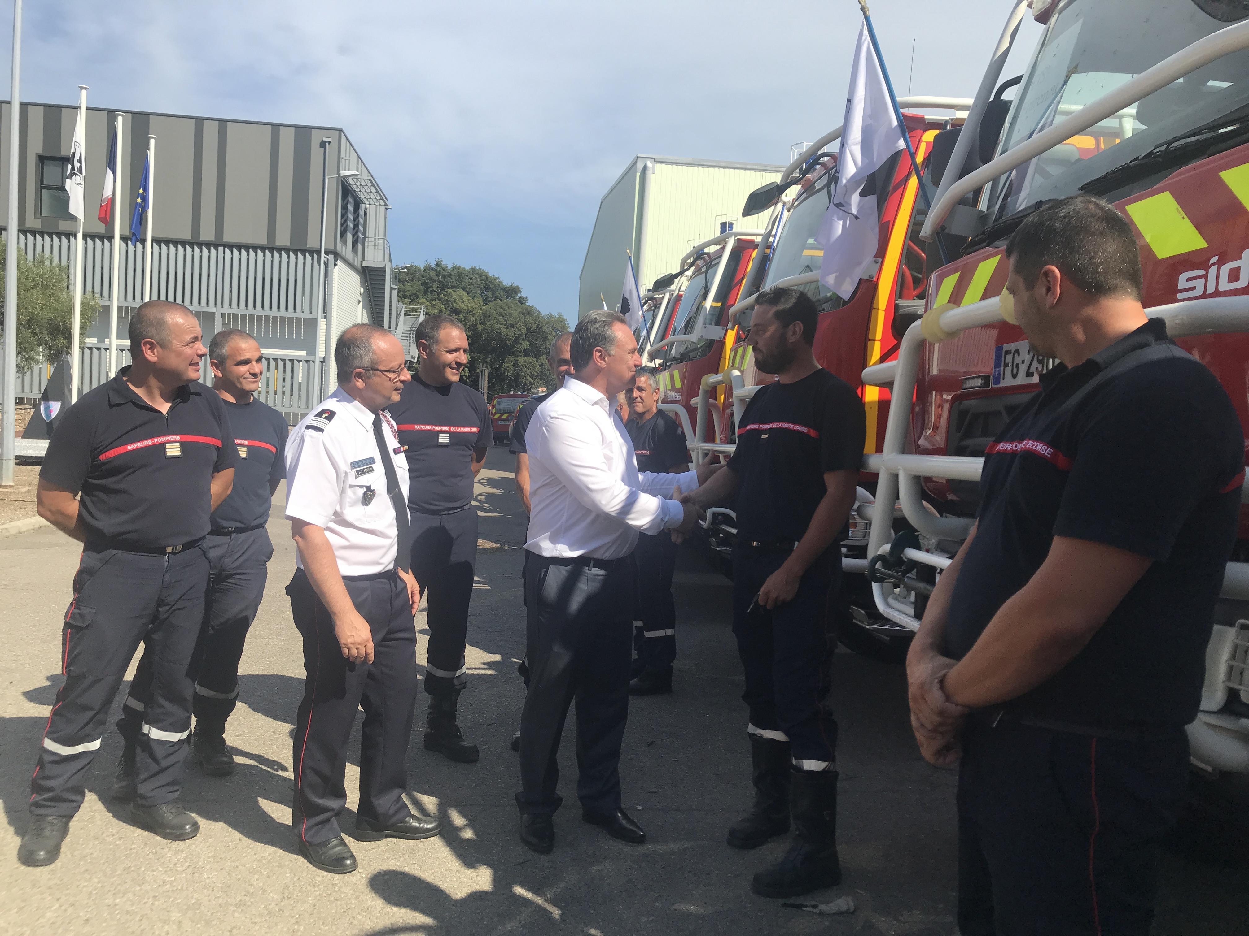 De nouveaux véhicules pour le SIS Haute-Corse