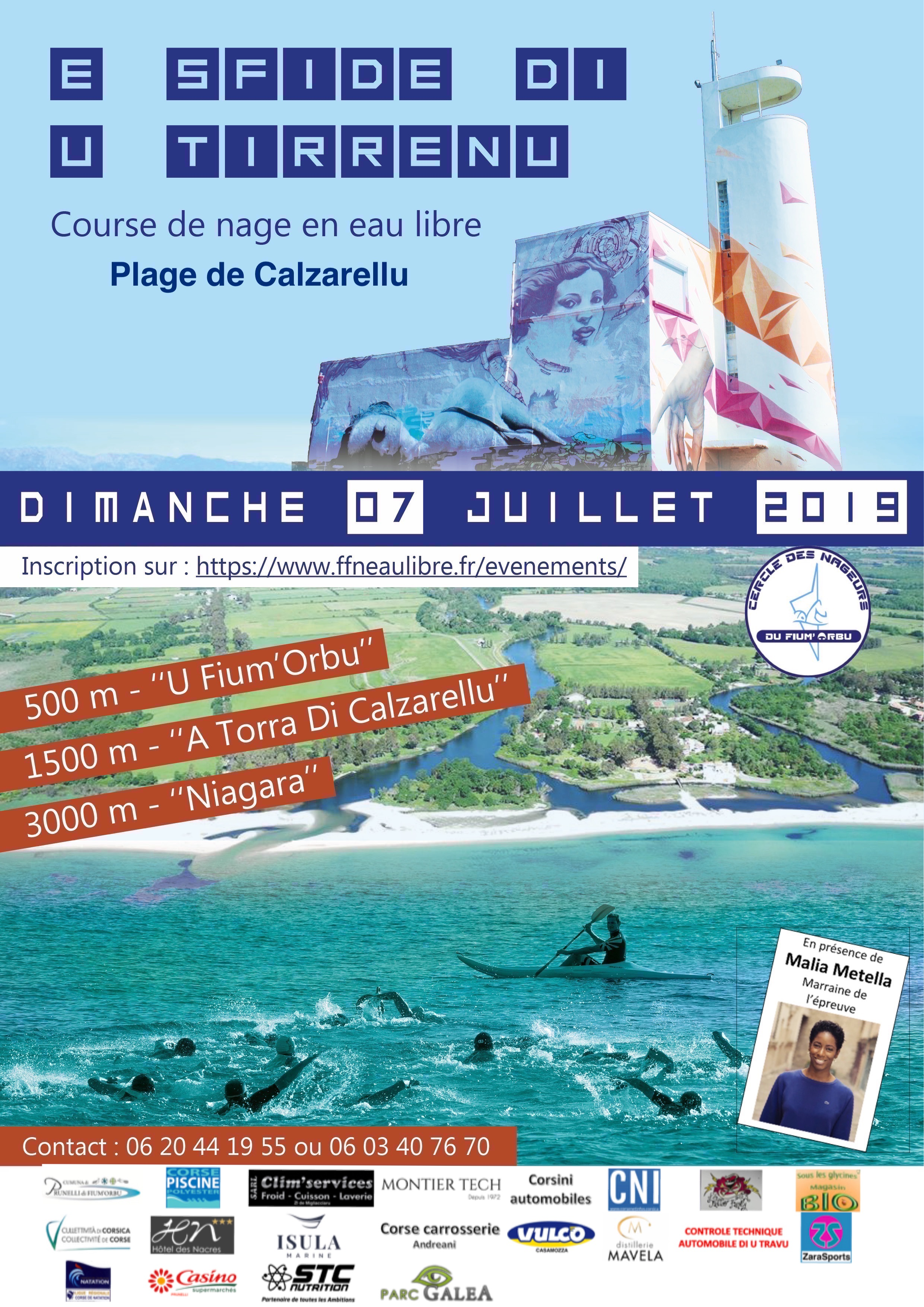 INEDIT : E sfide di u Tirrenu, la nage en eau libre se développe en Corse