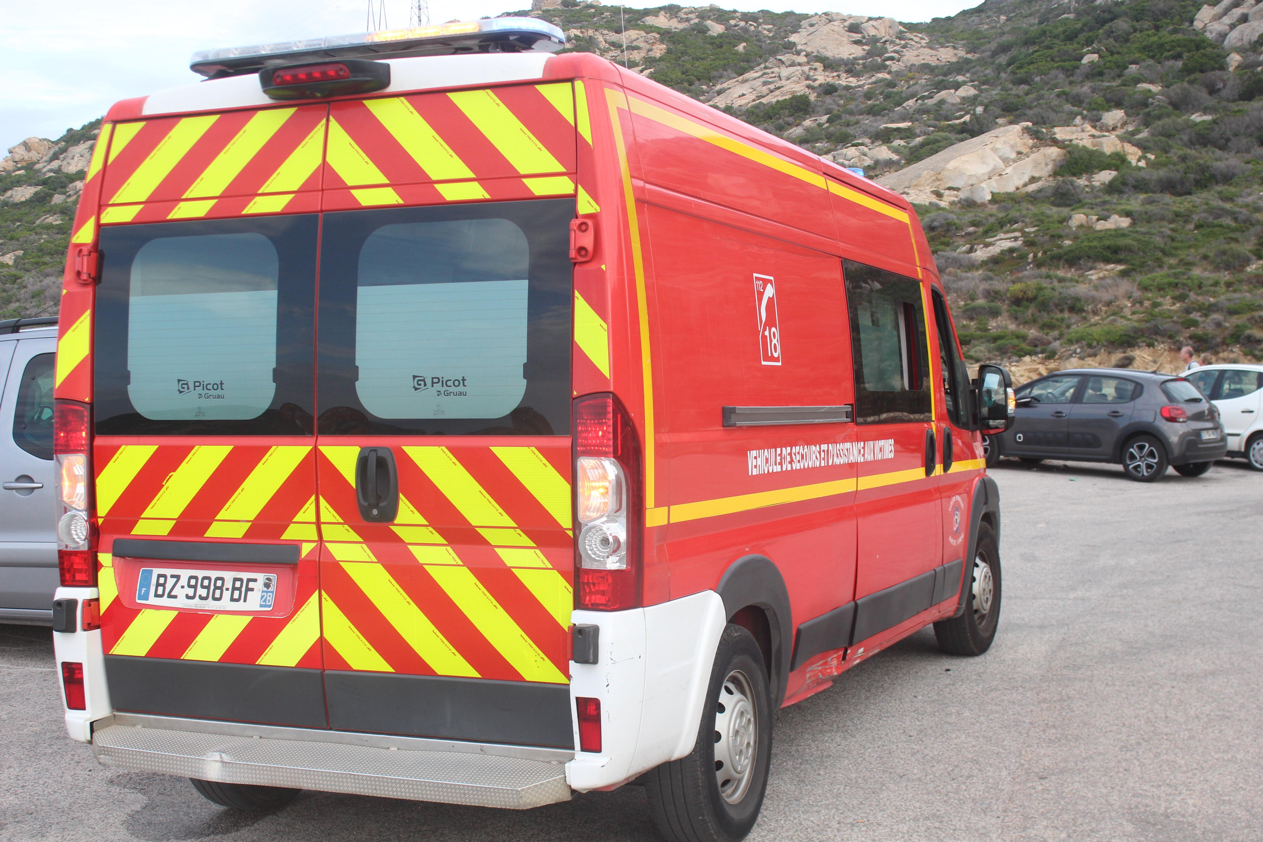 Accident spectaculaire à Calvi: 12 personnes dont deux enfants impliquées !