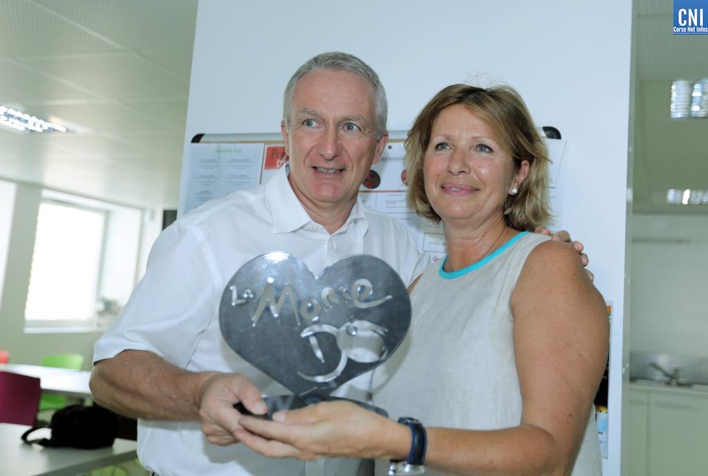 EDF reçoit le cœur d'or de la Marie Do