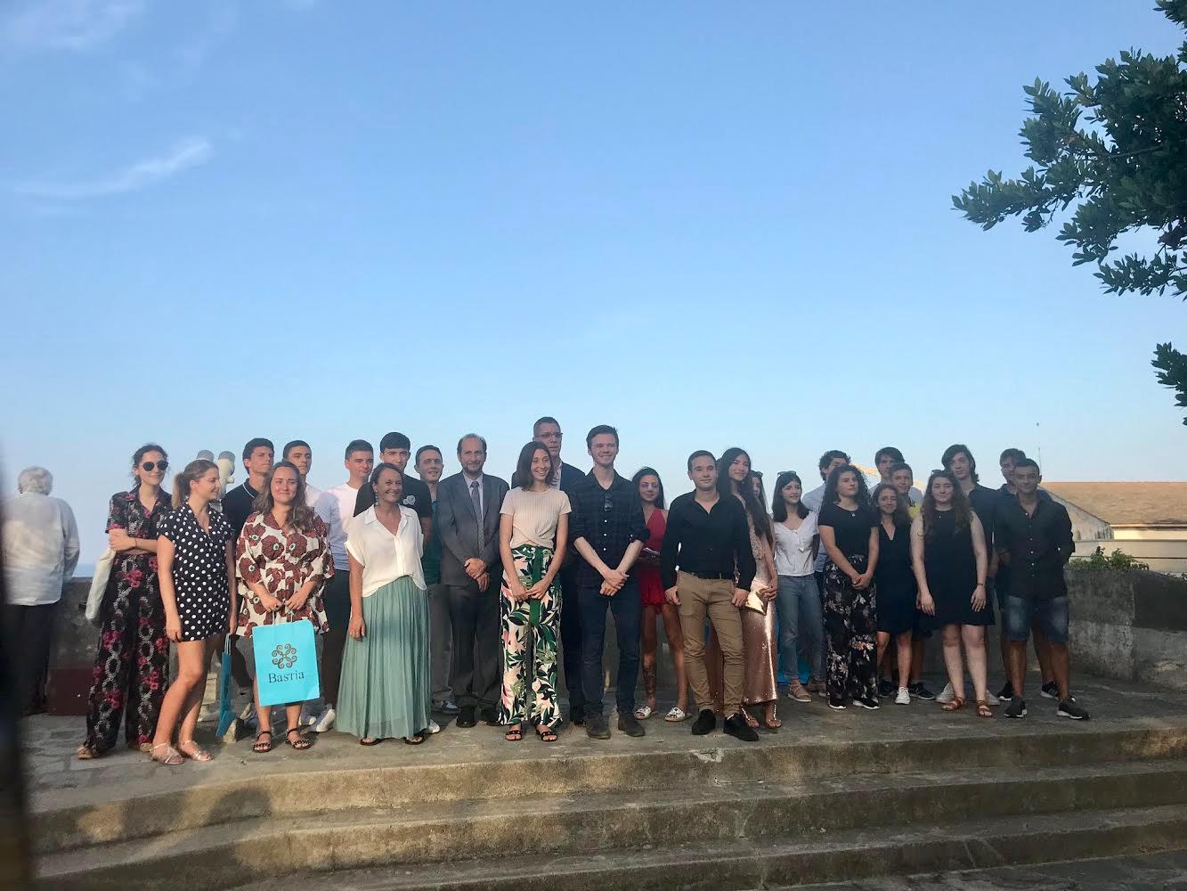 Bac 2019 : les mentions « très bien » reçus à la mairie de Bastia