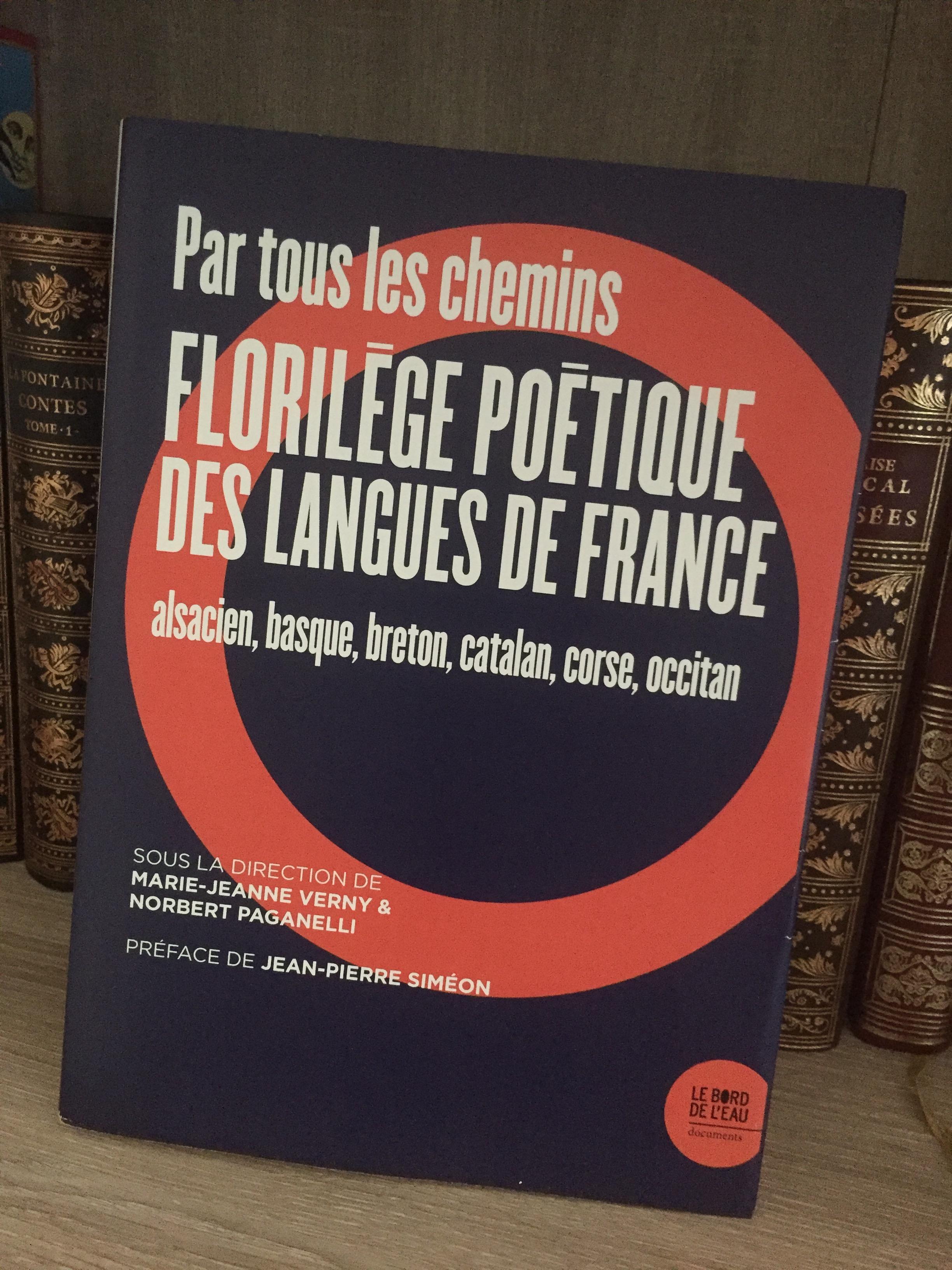 Un intéressant «Florilège poétique des langues  de France »
