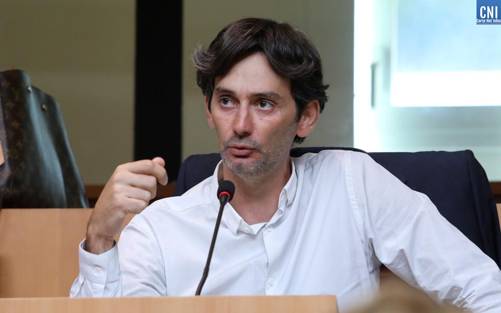 Julien Paolini, conseiller territorial du groupe Femu a Corsica. Photo Michel Luccioni.