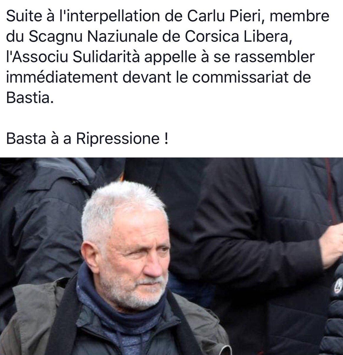 Bastia : Charles Pieri et trois autres personnes interpellées