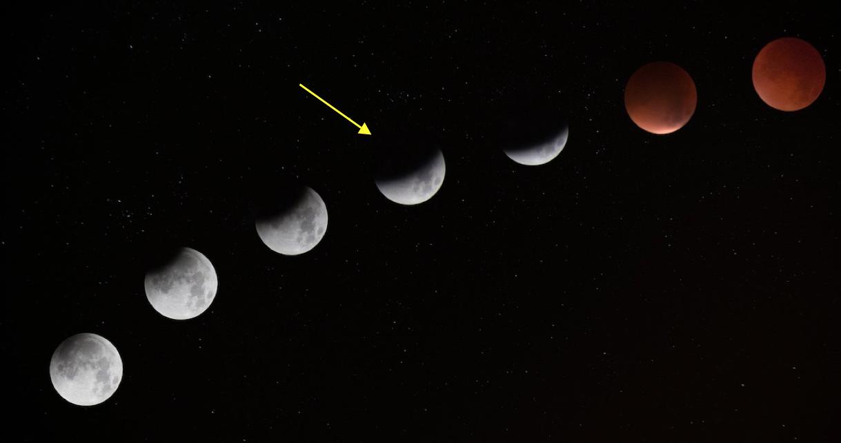 L'éclipse partielle de Lune, une spectacle à ne pas manquer ce mardi soir
