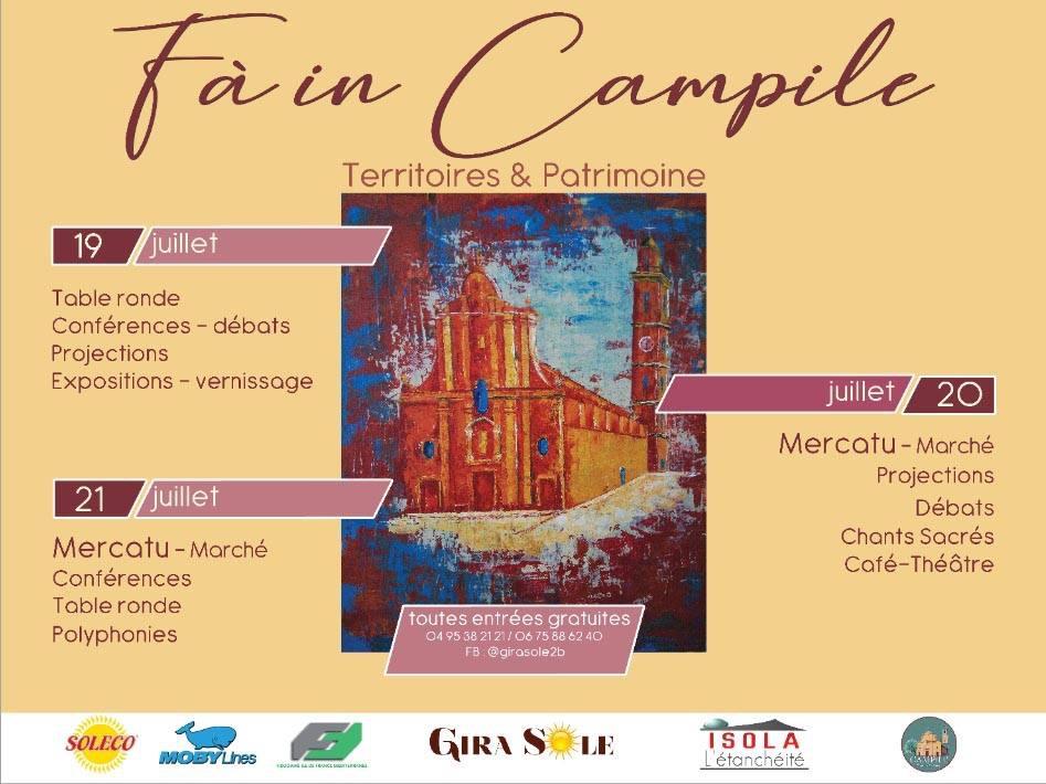 Campile : Un week-end de rencontres culturelles démarre ce vendredi